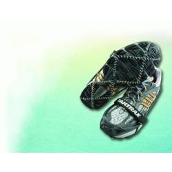 Nakładki antypoślizgowe na buty YakTrax Pro - raczki turystyczne z paskiem