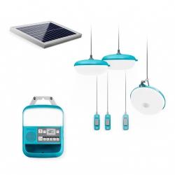 Zestaw domowy do oświetlenia z panelem słonecznym Biolite SolarHome 620